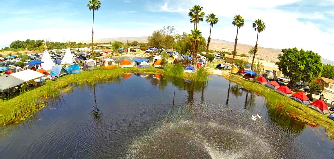 shadow hills rv resort pond